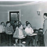 Fred Lisarelli and students Peacock Room.jpg